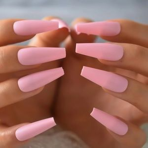 NWT matte pink nails